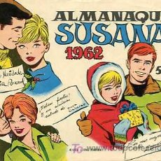 Tebeos: SUSANA AÑO 1962. Lote 6029697
