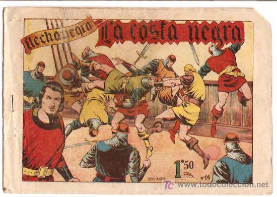 FLECHA NEGRA Nº 14 -- DIFICIL ORIGINAL (Tebeos y Comics - Toray - Flecha Negra)