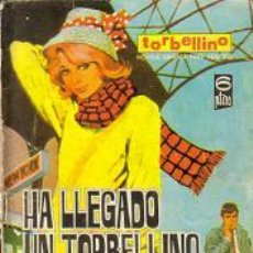 Tebeos: TORBELLINO (TORAY ) ORIGINAL 1967 Nº. 1. Lote 26319315