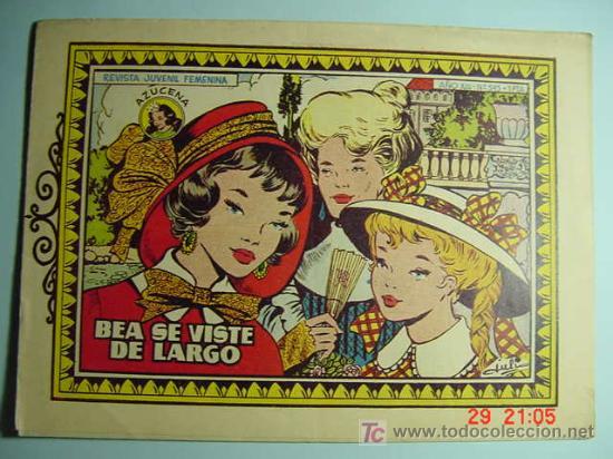 4179 AZUCENA - Nº 545 BEA SE VISTE DE LARGO MIRA MAS COMIC SIMILARES EN MI TIENDA COSAS&CURIOSAS (Tebeos y Comics - Toray - Azucena)