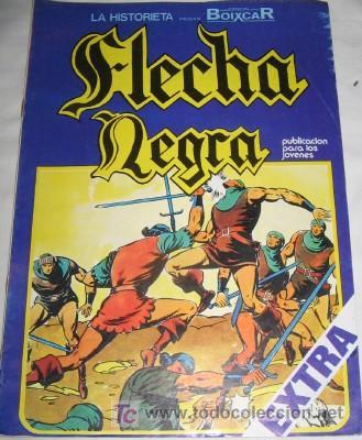 FLECHA NEGRA Nº 10 (Tebeos y Comics - Toray - Flecha Negra)