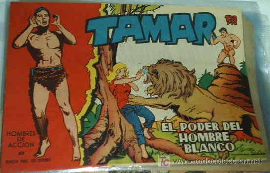 TAMAR Nº 61 ORIGINAL TORAY 1961 (Tebeos y Comics - Toray - Tamar)