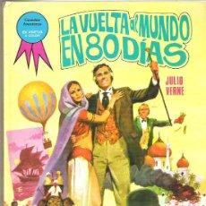 Tebeos: COLECCION GRANDES AVENTURAS*** LA VUELTA AL MUNDO EN 80 DIAS *** EDI TORAY 1985. Lote 12317571