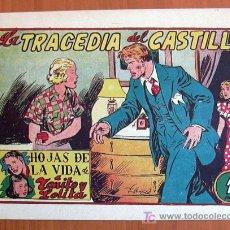 Tebeos: HOJAS DE LA VIDA DE TOÑITO Y LOLITA Nº 12 - EDICIONES TORAY 1951. Lote 7114840