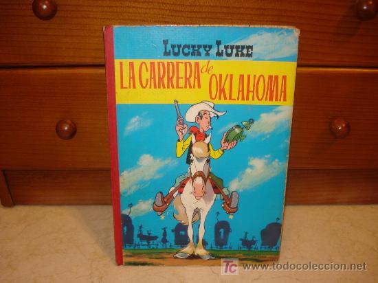 LUCKY LUKE - LA CARRERA DE OKLAHOMA - TORAY 1969 (Tebeos y Comics - Toray - Otros)