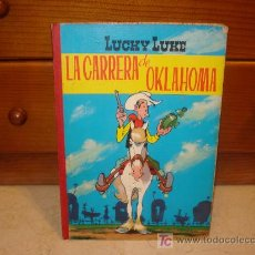 Tebeos: LUCKY LUKE - LA CARRERA DE OKLAHOMA - TORAY 1969. Lote 7265887