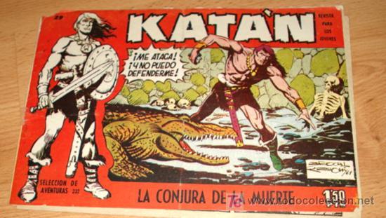 KATAN - Nº 29 - ED. TORAY - LA CONJURA DE LA MUERTE. (Tebeos y Comics - Toray - Katan)