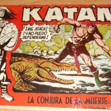 Tebeos: KATAN - Nº 29 - ED. TORAY - LA CONJURA DE LA MUERTE.. Lote 7422413