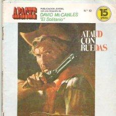 Tebeos: APACHE - ATAUD CON RUEDAS ** EDI TORAY 1975. Lote 7504540