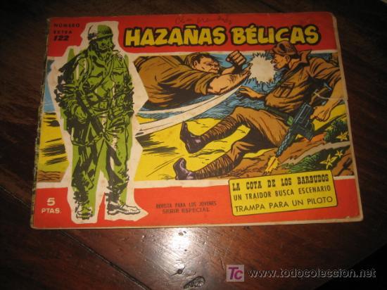 HAZAÑAS BELICAS NUMERO EXTRA 122 (Tebeos y Comics - Toray - Hazañas Bélicas)