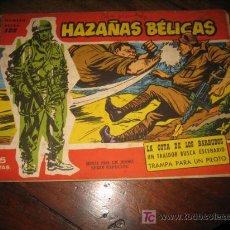 Tebeos: HAZAÑAS BELICAS NUMERO EXTRA 122 . Lote 8301757