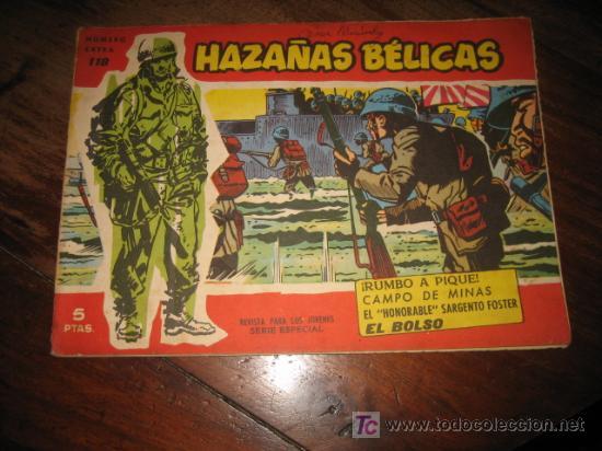 HAZAÑAS BELICAS NUMERO EXTRA 118 (Tebeos y Comics - Toray - Hazañas Bélicas)