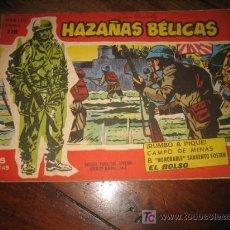 Tebeos: HAZAÑAS BELICAS NUMERO EXTRA 118 . Lote 8301759