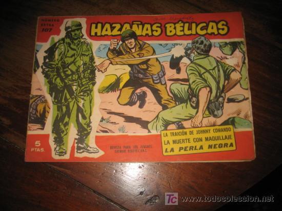HAZAÑAS BELICAS NUMERO EXTRA 107 (Tebeos y Comics - Toray - Hazañas Bélicas)