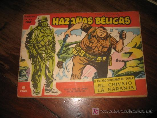 HAZAÑAS BELICAS NUMERO EXTRA 106 (Tebeos y Comics - Toray - Hazañas Bélicas)