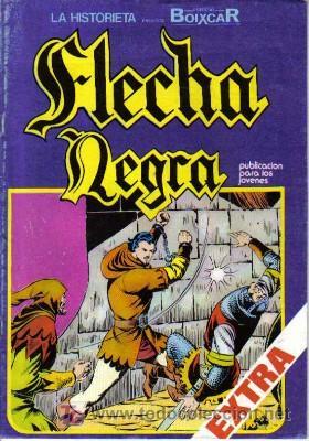 FLECHA NEGRA Nº 4 (Tebeos y Comics - Toray - Flecha Negra)