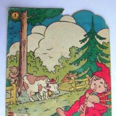 Tebeos: CUENTOS DE LA ABUELITA - TROQUELADOS - Nº 4 - EDICIONES TORAY 1949. Lote 7768492