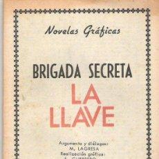 Tebeos: BRIGADA SECRETA - LA LLAVE**** EDICIONES TORAY 1966 ***162. Lote 7900909