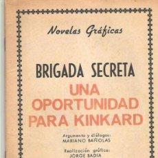 Tebeos: BRIGADA SECRETA - UNA OPORTUNIDAD PARA KINKARD ****EDICIONES TORAY NUM 180 ****1966. Lote 7900915
