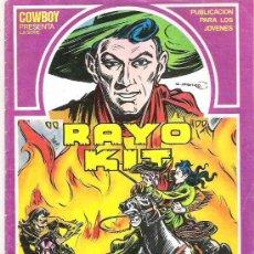 Tebeos: RAYO KIT - CHACALES DE LA PRADERA *** EDI TORAY Nº 5 1982. Lote 7922509