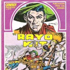 Tebeos: RAYO KIT - ACORRALADOS *** EDI TORAY 1982 Nº4. Lote 7922523