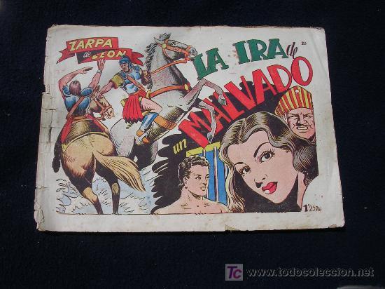 ZARPA DE LEON TORAY ORIGINAL NUMERO 23 BIEN CJ7 (Tebeos y Comics - Toray - Zarpa de León)