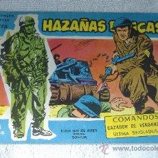 Tebeos: HAZAÑAS BELICAS AZUL Nº 175, DIBUJOS BOIXCAR. Lote 48831993