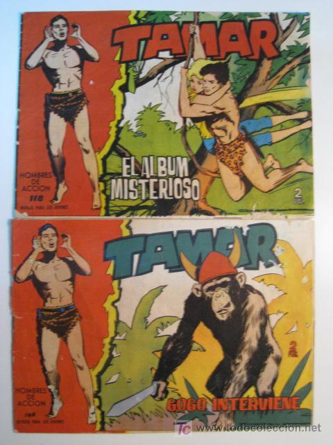 LOTE 2 NUMS TAMAR - TORAY - 1961 (Tebeos y Comics - Toray - Tamar)