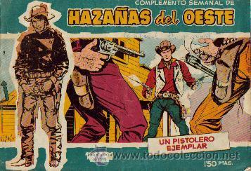 HAZAÑAS DEL OESTE AZUL (TORAY ) ORIGINAL 1960.LOTE (Tebeos y Comics - Toray - Hazañas del Oeste)