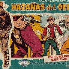 Tebeos: HAZAÑAS DEL OESTE AZUL (TORAY ) ORIGINAL 1960.LOTE. Lote 26703472