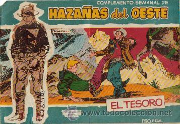 Tebeos: HAZAÑAS DEL OESTE AZUL (TORAY ) ORIGINAL 1960.LOTE - Foto 2 - 26703472