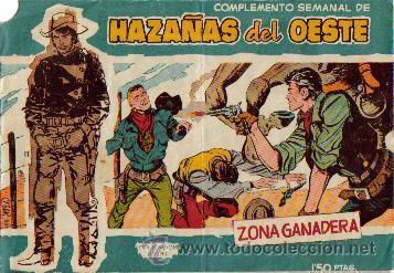 Tebeos: HAZAÑAS DEL OESTE AZUL (TORAY ) ORIGINAL 1960.LOTE - Foto 3 - 26703472