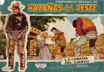 Tebeos: HAZAÑAS DEL OESTE AZUL (TORAY ) ORIGINAL 1960.LOTE - Foto 4 - 26703472