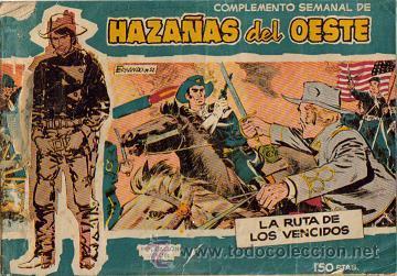 Tebeos: HAZAÑAS DEL OESTE AZUL (TORAY ) ORIGINAL 1960.LOTE - Foto 5 - 26703472