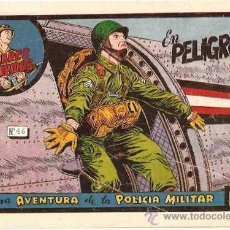 Tebeos: POLICIA MILITAR Nº 46 --TORAY-- ORIGINAL 1954 - LEER TODO. Lote 19081802
