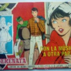 Tebeos: SERENATA - CON LA MUSICA A OTRA PARTE Nº 299. Lote 26665510