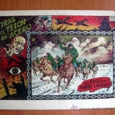 Tebeos: TRAS EL TELÓN DE ACERO, Nº 12 - EDICIONES TORAY 1954. Lote 9140863