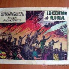 Tebeos: QUO VADIS, Nº 17 - EDICIONES TORAY 1954. Lote 9141252