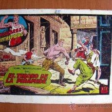 Tebeos: YORIK BRAZO DE HIERRO, Nº 28 - EDICIONES TORAY 1956. Lote 9145973