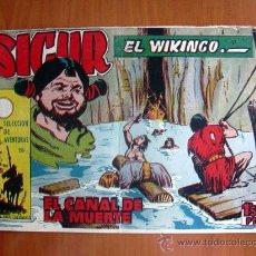 Tebeos: SIGUR EL VIKINGO, Nº 27 - EDICIONES TORAY 1958. Lote 9146138