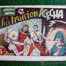 Tebeos: EL DIABLO DE LOS MARES, ÁLBUM Nº 5 - EDICIONES TORAY 1949. Lote 9206405