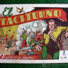 Tebeos: EL DIABLO DE LOS MARES, ÁLBUM Nº 12 - EDICIONES TORAY 1949. Lote 9206435