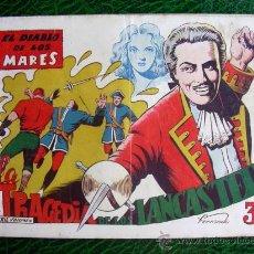 Tebeos: EL DIABLO DE LOS MARES, ÁLBUM Nº 16 - EDICIONES TORAY 1949. Lote 9206456