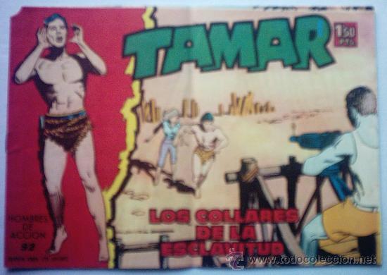 TAMAR - LOS COLLARES DE LA ESCLAVITUD AÑO 1961 - Nº 92 (Tebeos y Comics - Toray - Tamar)