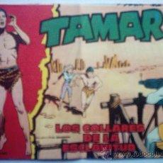 Tebeos: TAMAR - LOS COLLARES DE LA ESCLAVITUD AÑO 1961 - Nº 92 . Lote 24976791