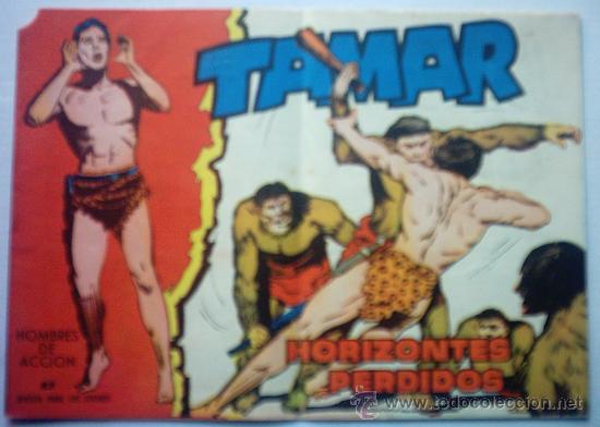 TAMAR - HORIZONTES PERDIDOS Nº 83 AÑO 1961 (Tebeos y Comics - Toray - Tamar)