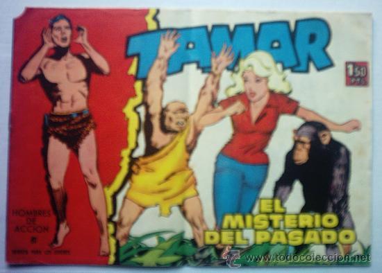 TAMAR - EL MISTERIO DEL PASADO AÑO 1961 Nº 81 (Tebeos y Comics - Toray - Tamar)