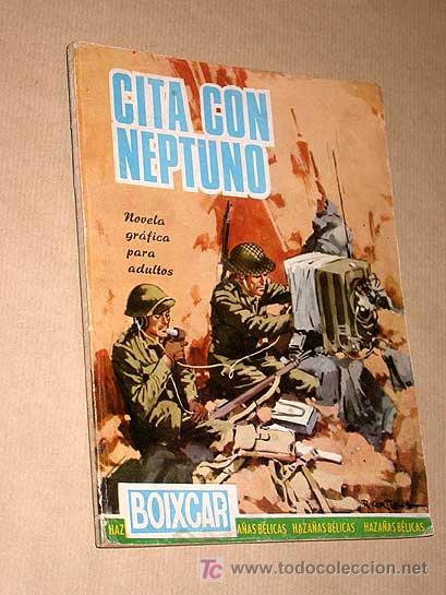 CITA CON NEPTUNO. BOIXCAR, OBRAS COMPLETAS Nº 47. HAZAÑAS BÉLICAS. TRES HISTORIAS COMPLETAS. TORAY + (Tebeos y Comics - Toray - Hazañas Bélicas)