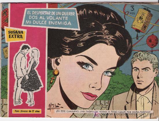 SUSANA EXTRA. TORAY. Nº 6 (Tebeos y Comics - Toray - Susana)