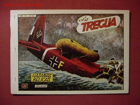 HAZAÑAS BELICAS 2ª SERIE (TORAY - 1950) ... Nº 187 (Tebeos y Comics - Toray - Hazañas Bélicas)